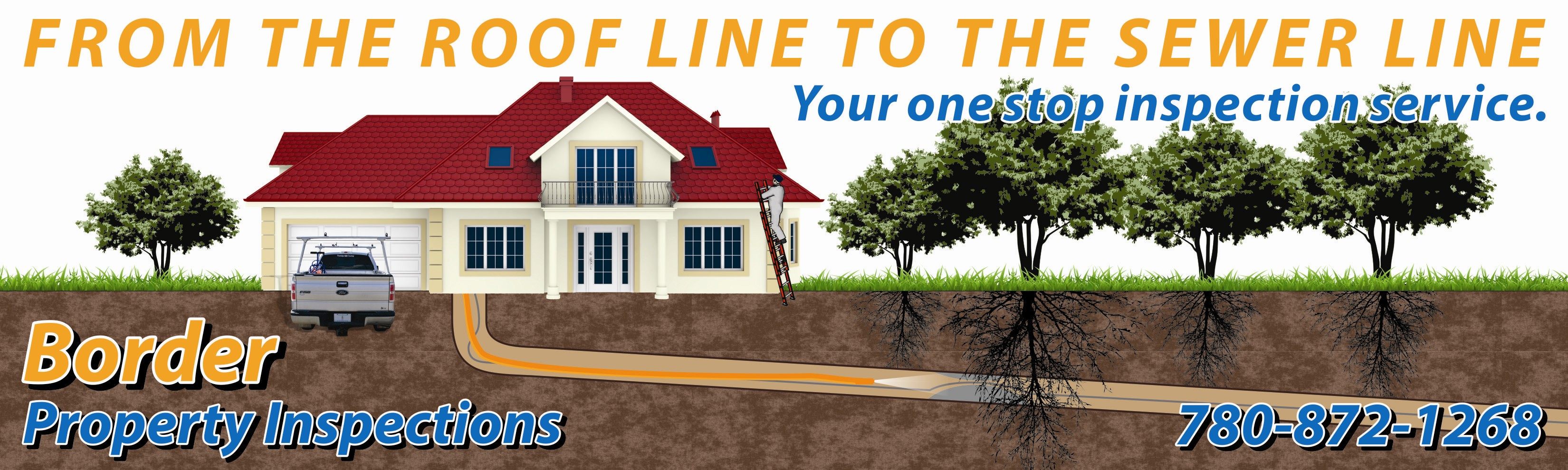 From the roofline to sewer line