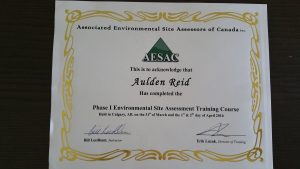 PHASE ONE CERTIFICATE