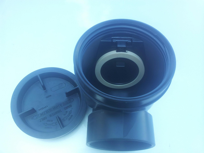 older style main backwater valve