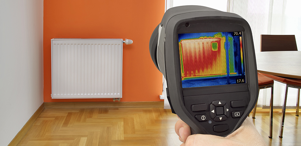 Heat loss Detection in Central Heating Radiator Using A Thermal Camera.